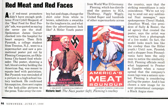 Статья 1988-го года (и американский плакат тоже 88-го)
