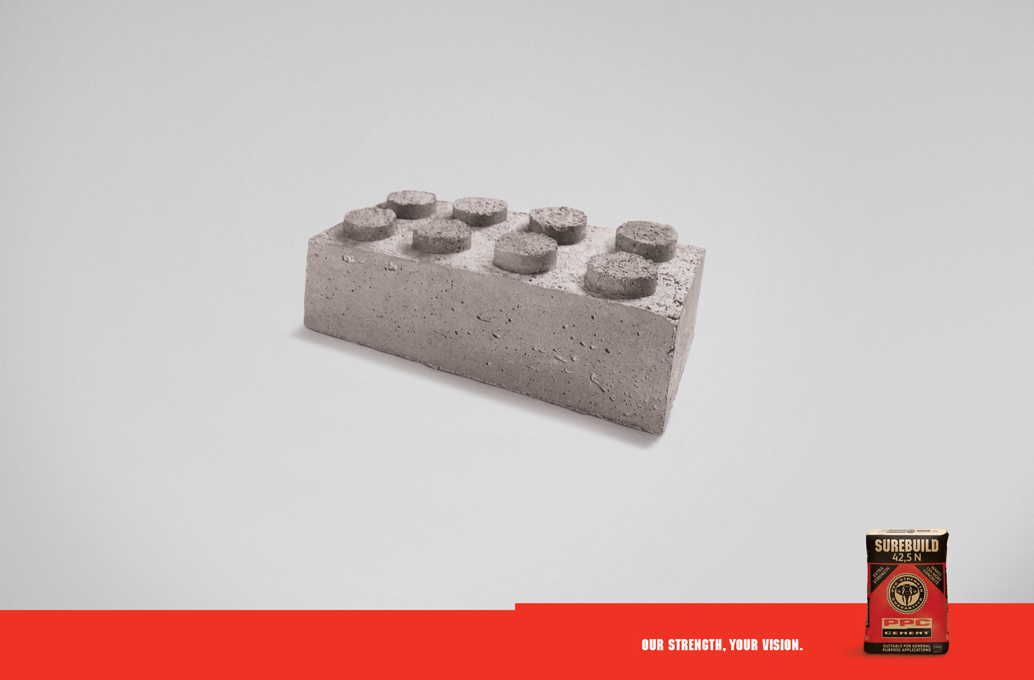 PPC Cement - Brick - print, South Africa