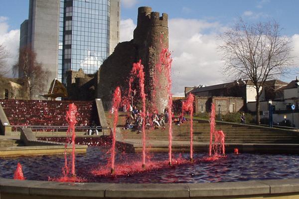 The Blood Fountain, Swansea 2011