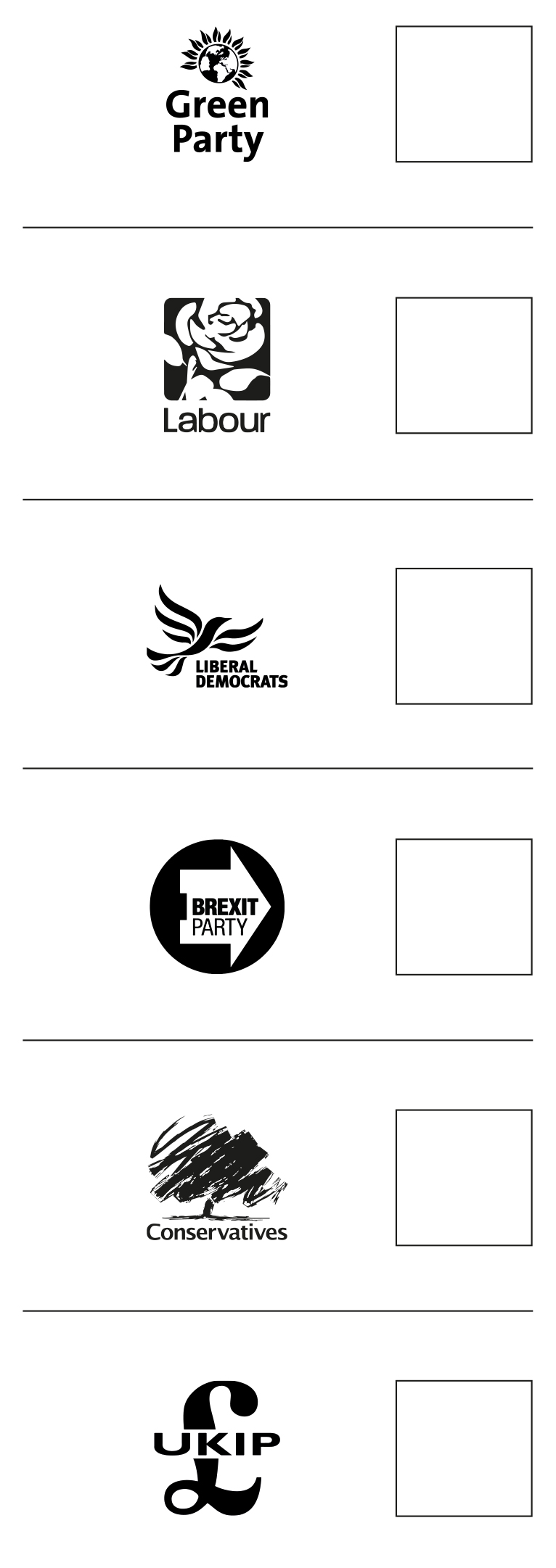 The Brexit Party logo