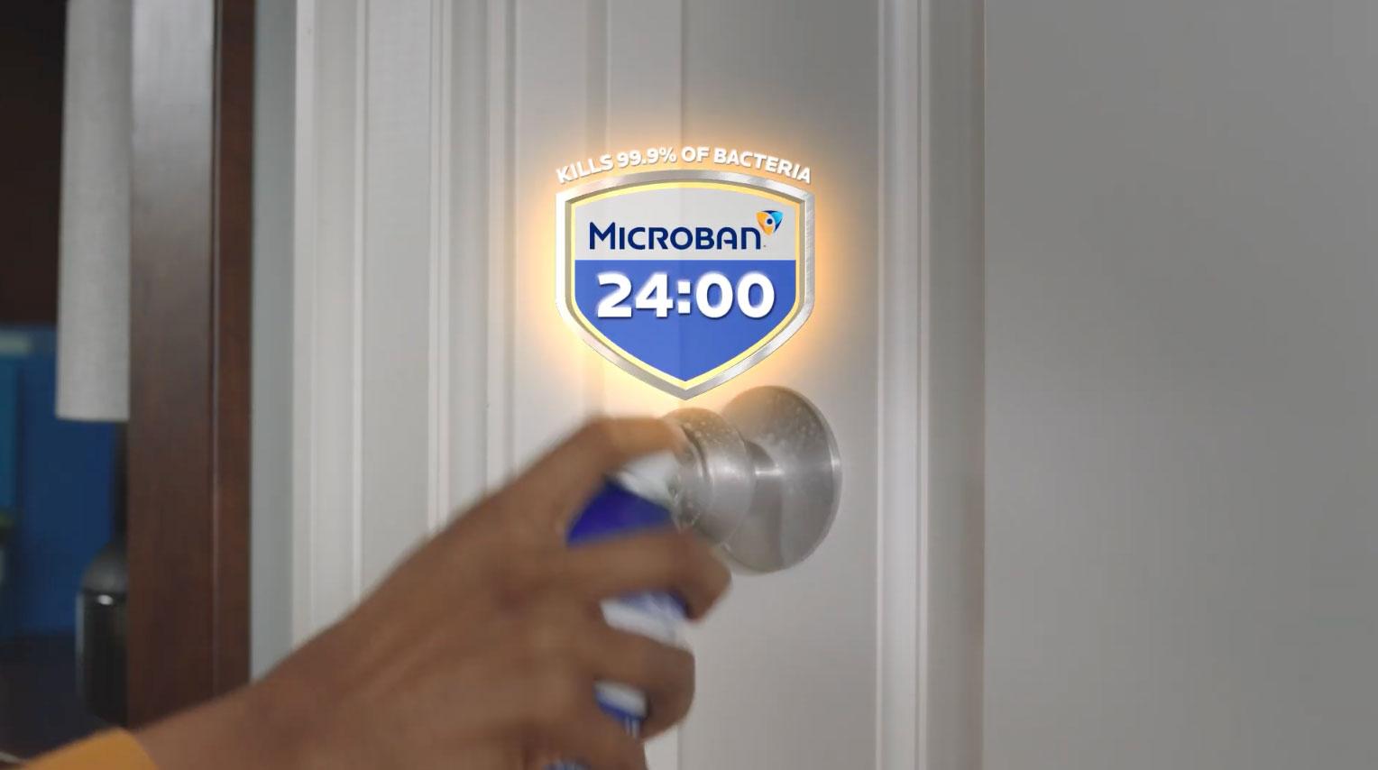Microban 24 - Keep killing bacteria for 24 hours (2021) :15 (USA)