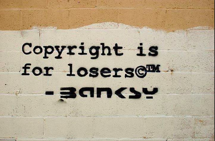 """Banksy who once claimed """"copyright is for losers"""" sued an Italian museum  for copyright infringement 