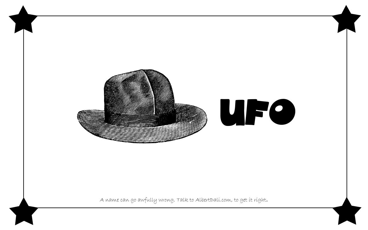 Albert Dali - UFO
