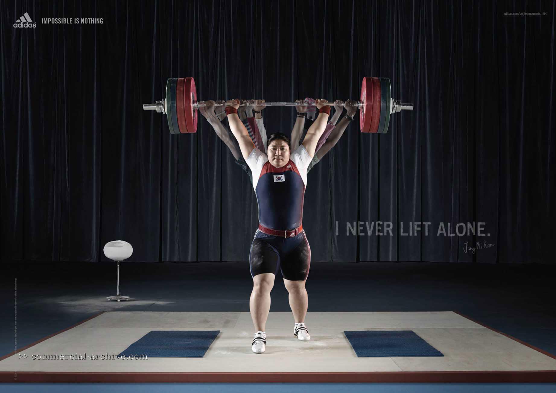 """South Korean weightlifter Jang Mi Ran: """" I never lift alone."""""""