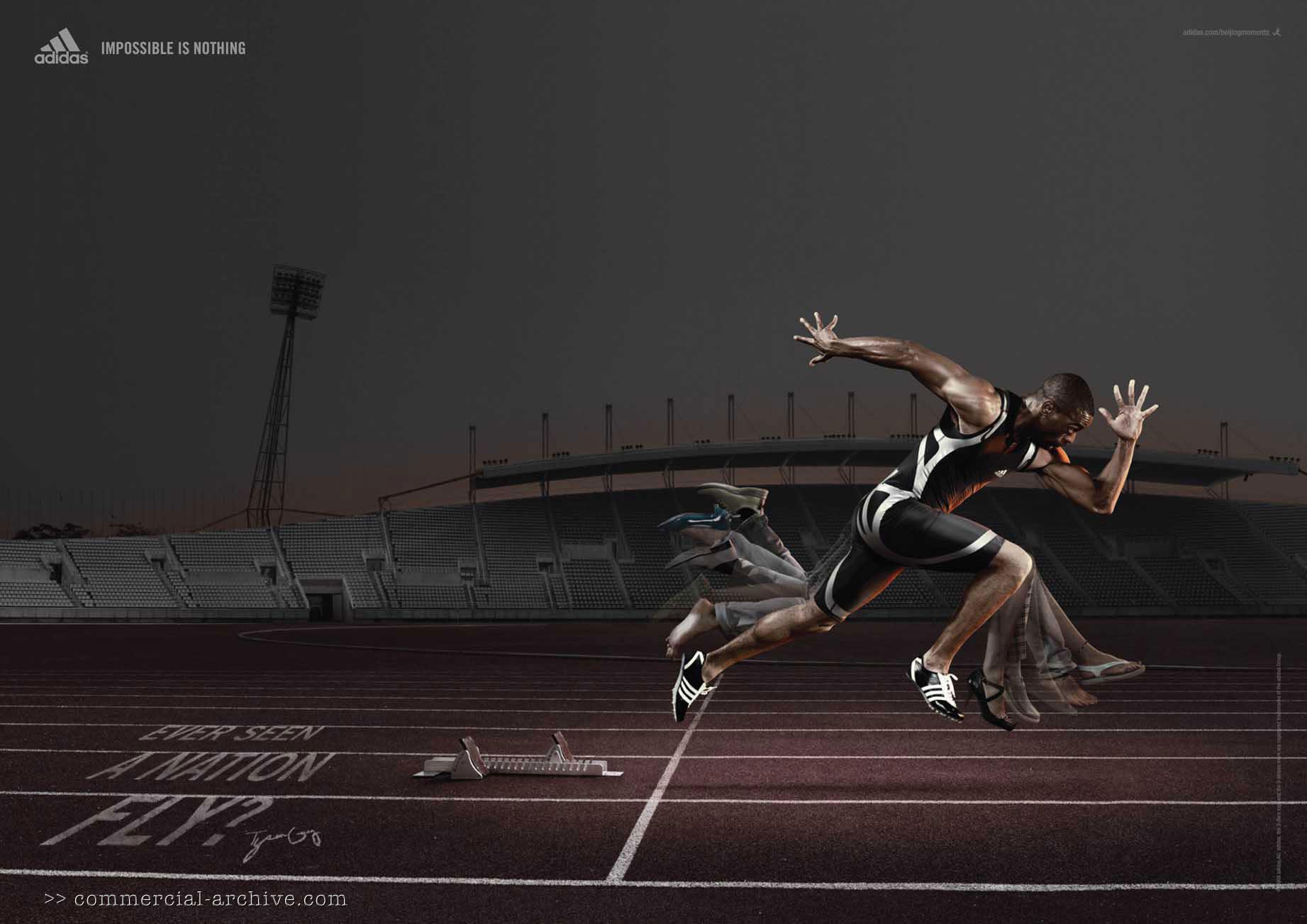 """USA sprinter Tyson Gay: """"Ever seen a nation fly?"""""""