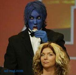 blå robbinson robban