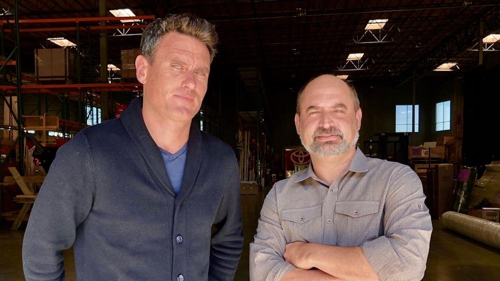 Richard Sears (Left), Kevin Shuster (Right)