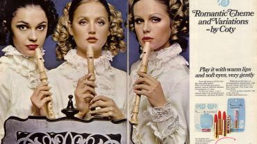 Coty Vanity Fair ad, 1968