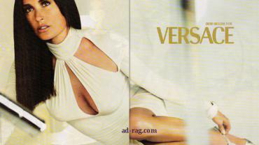 Versace - Demi Moore