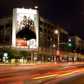 Upskirt billboard