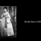 Bertha Benz went on the first long-distance drive