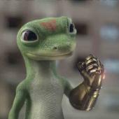 Geico gecko Infinity