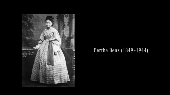 Bertha Benz went on the first long-distance drive