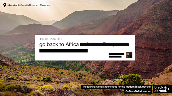 """Go Back To Africa"""
