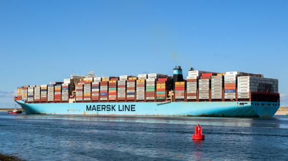 Mærsk ship