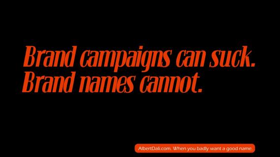 Brand campaigns can suck