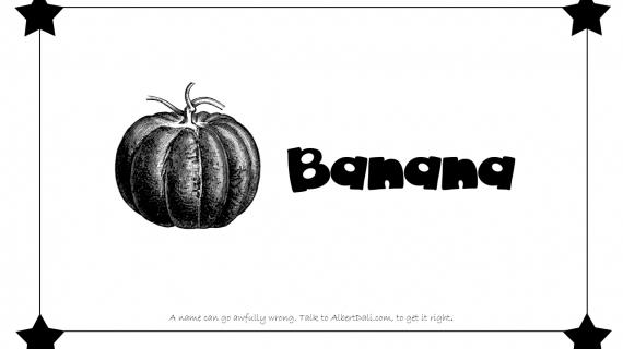 Albert Dali - Banana