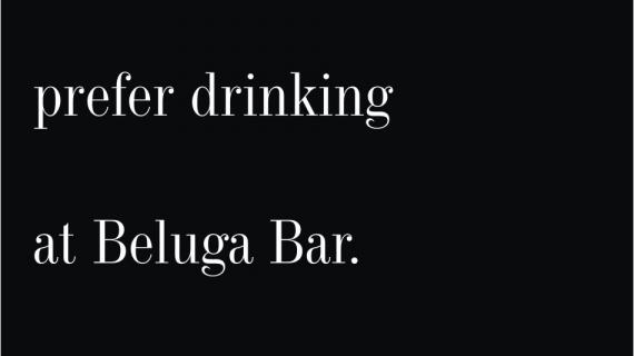 Beluga Bar: Teetotaler (Print/India/2009)
