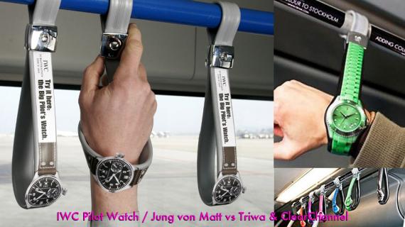 Triwa & IWA Pilot Watch Bus Handle Ad