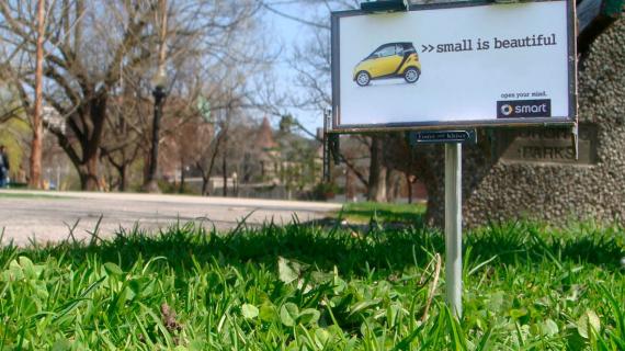 Smart tiny billboard