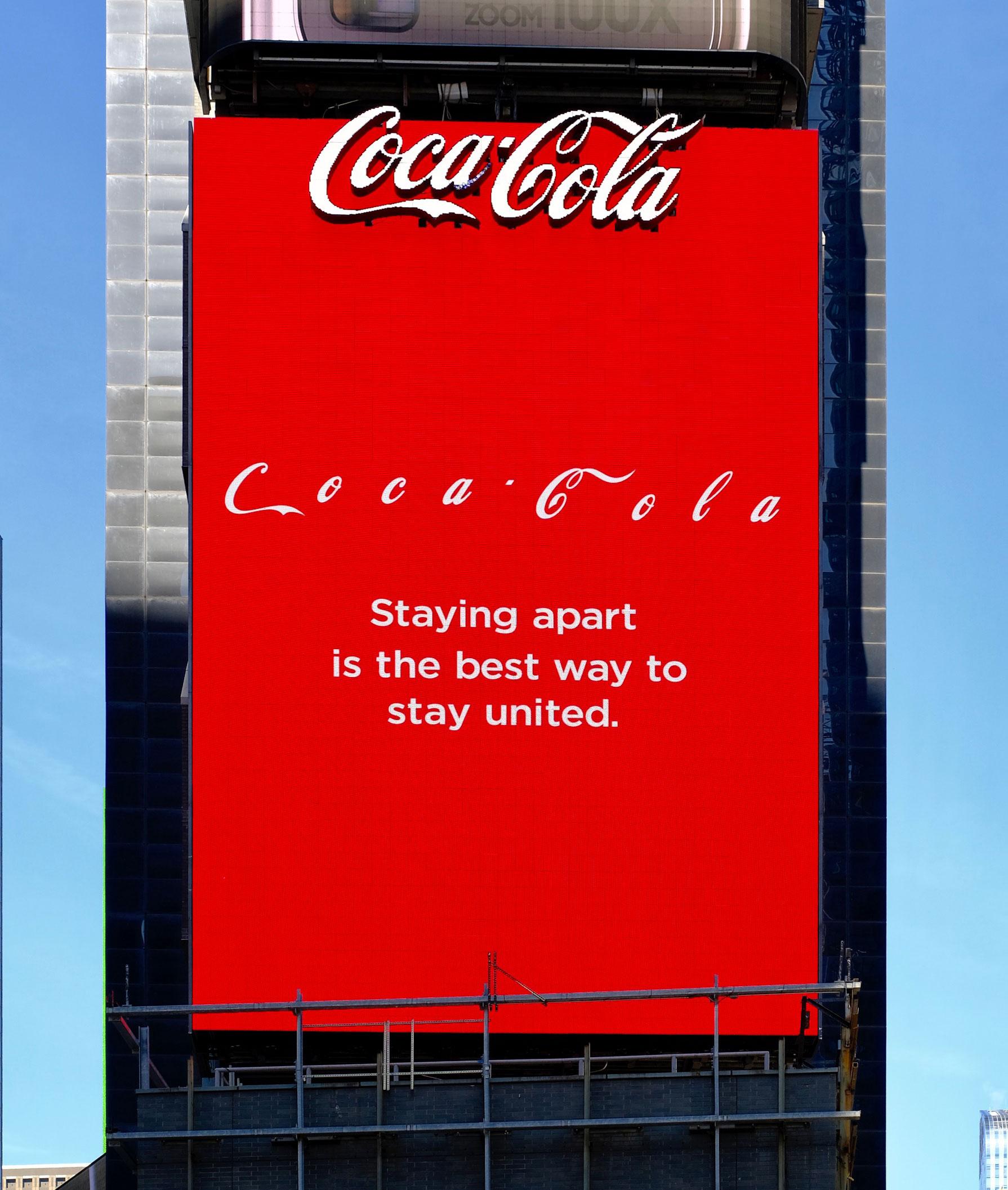 Coke billboard