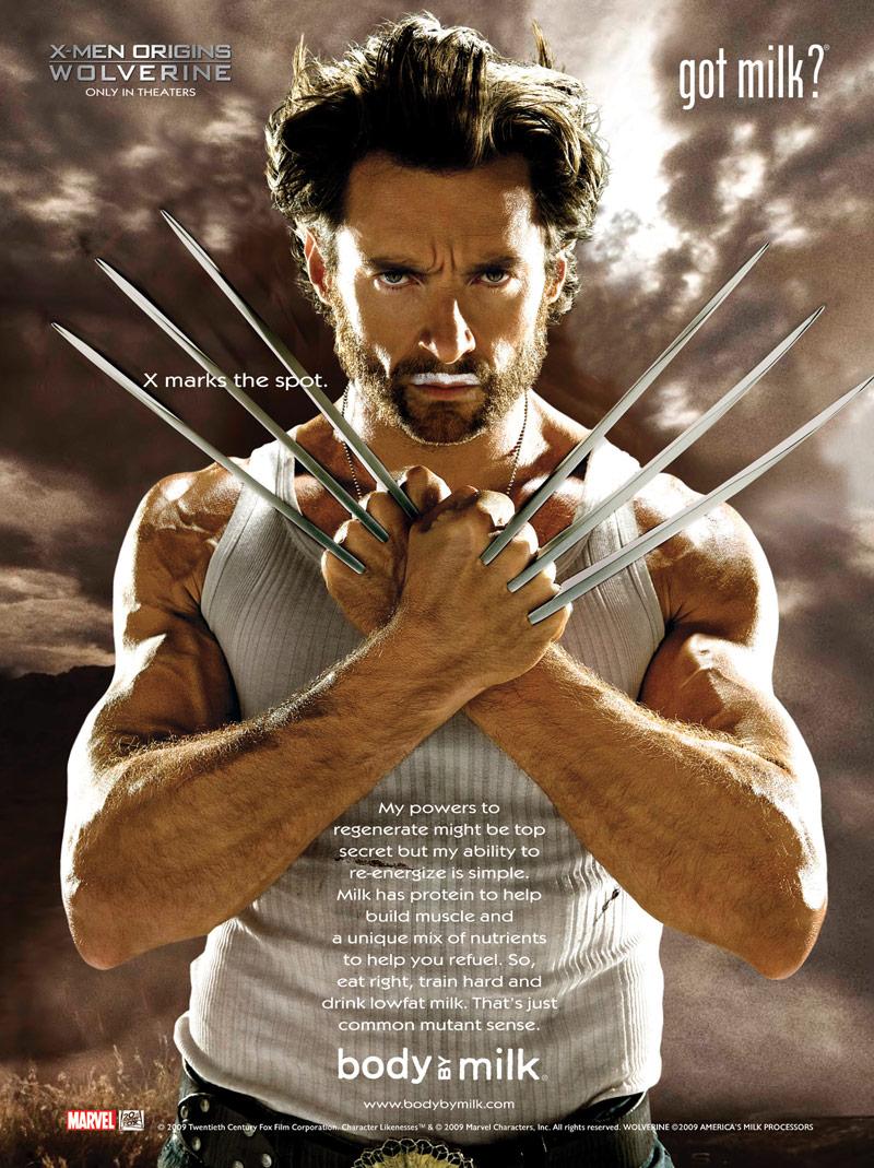 Wolverine Body By Milk